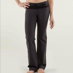 Lululemon Astro Yoga Pants Floral Black Soot 2
